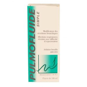 Pulmofluide simple, solution buvable 180ml