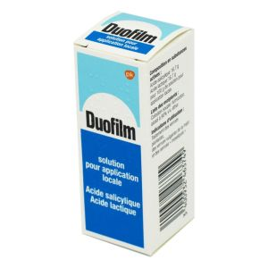 DUOFILM solution - Flacon 15 ml