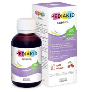 PEDIAKID Sommeil Sirop 125ml - Sirop d' Agave + Prébiotiques