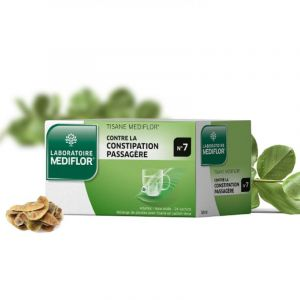 MEDIFLOR N°7 CONSTIPATION PASSAGERE, tisane - 24 sachets