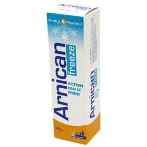 ARNICAN FREEZE Gel 100g - Chocs, Coups, Chutes - A Base d' Arnica et Menthol