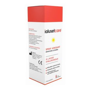IALUSET CARE Spray Apaisant 100ml - Irritations Cutanées (Brûlures, Erythèmes, Rougeurs...)