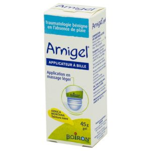 ARNIGEL Gel, 45 g - Tube avec Applicateur à bille - Boiron