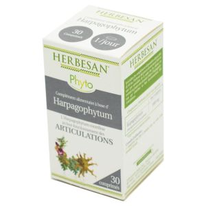 HERBESAN Phyto Articulations - Complément Alimentaire Harpagophytum - 30 Comprimés