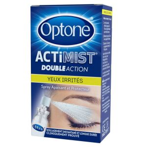 OPTONE ActiMist Double Action  Yeux Irrités + Inconfort - Spray Oculaire Liposomial - Spray/10ml