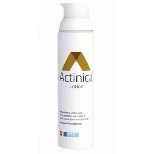ACTINICA Lotion Prévention des Cancers de la Peau - Photoprotection - Flacon-pompe 80 ml