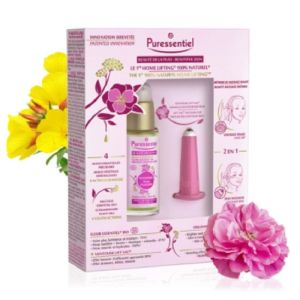 PURESSENTIEL BEAUTE DE LA PEAU Coffret Home Lifting 100% Naturel - 1 Elixir Essentiel Bio Immortelle