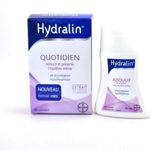 HYDRALIN QUOTIDIEN 100ml Soin d' hygiène intime - Protection quotidienne - Fl/100ml - BAYER