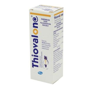 Thiovalone, suspension buccale - Spray 12 ml