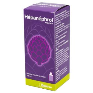 Hépanéphrol artichaut, solution buvable - Flacon 200 ml