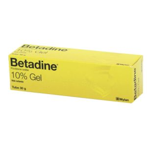 BETADINE 10% gel - Tube de 30 g