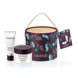 CAUDALIE Coffret Corps Gourmand Soin Cocooning - 1 Baume Corps + Offert 1 Crème Mains et Ongles