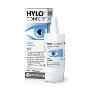 Hylo Confort collyre hydratant - Flacon 10 ml