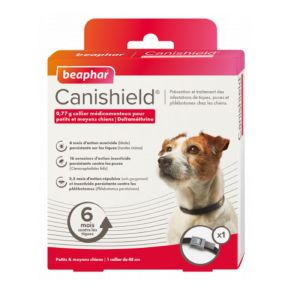 CANISHIELD 48cm Collier Antiparasitaire Bte/1 - Petits et Moyens Chiens