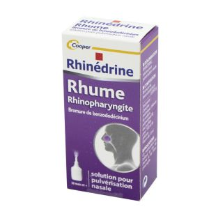 Rhinédrine, solution nasale - Flacon 13 ml