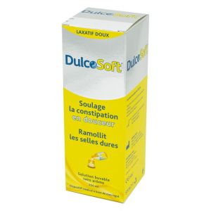 DULCOSOFT Solution Buvable 250 ml - Laxatif Doux Soulageant la Constipation et Ramollissant les Sell