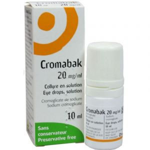 Cromabak collyre - Flacon 10 ml