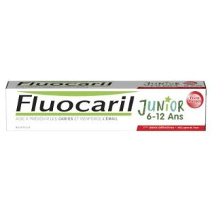 FLUOCARIL Junior 6 à 12 Ans Fruits Rouges - Gel Dentifrice Enfants - Caries Email - 75ml