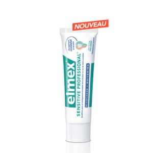 ELMEX SENSITIVE PROFESSIONAL Dentifrice fluoré blanchissant au Pro-Argin T/75ml