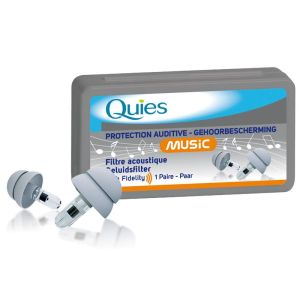 Protection Auditive Spécial MUSIQUE - Bte/1 Paire - QUIES