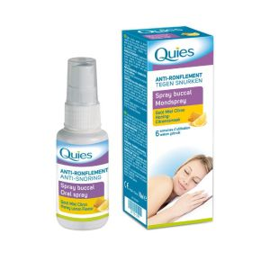 QUIES ANTI-RONFLEMENT Spray Buccal 70ml - Goût Miel Citron