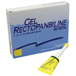 Rectopanbiline, gel rectal - 6 unidoses