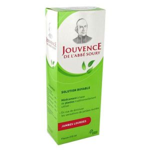 JOUVENCE DE L'ABBE SOURY,solution buvable - Flacon 210 ml