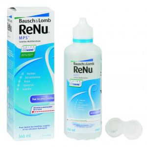 RENU MPS - Solution Multi-fonctions Yeux Sensibles - Fl/360ml - CHAUVIN BAUSCH & LOMB