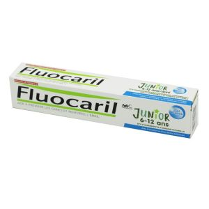 FLUOCARIL JUNIOR 6 à 12 Ans - Gel Dentifrice Fluoré Bubble 75ml - Caries, Email