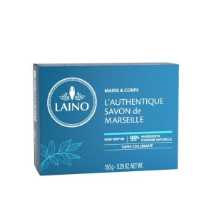 LAINO Authentique savon de Marseille 150g