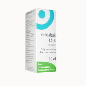 FLUIDABAK 1,5 %, collyre - Flacon 10ml