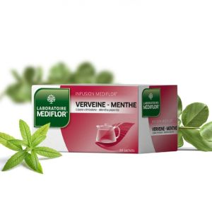 MEDIFLOR Infusion VERVEINE-MENTHE - 24 sachets
