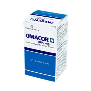 Omacor, 28 capsules molles
