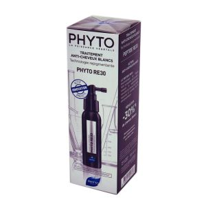 PHYTOSOLBA Phyto RE30 - Traitement Anti Cheveux Blancs sans Pigments, sans Colorant - Spray/50ml