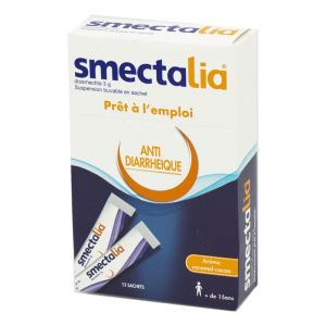 Smectalia 3 g, suspension buvable - 12 sachets