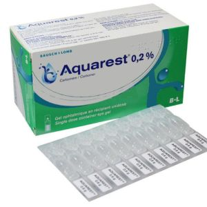 AQUAREST 0,2 %, gel opthalmique 60 unidoses