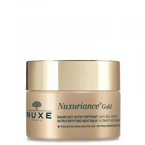 NUXE Nuxuriance Gold Baume Nuit Nutri Fortifiant Anti Age Absolu - Peaux Sèches Fragilisées - 50ml
