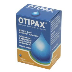 Otipax, solution auriculaire - Flacon compte-gouttes 16 g