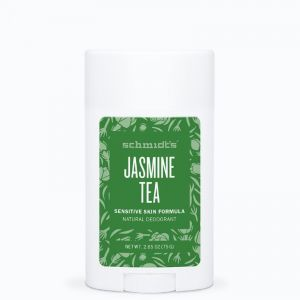 SCHMIDT'S Sensitive Stick Jasmine Tea 58ml - Déodorant Naturel Peaux Sensibles - Certifié Vegan