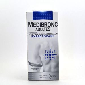MEDIBRONC ADULTES, solution buvable - Flacon 250 ml