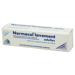Normacol Adulte Lavement unidose - Flacon 130 ml + canule