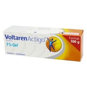 Voltarenactigo 1% , gel - Tube 100 g
