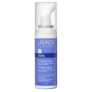 URIAGE Bébé 1er Spray Nasal - Spray Anti Mucosités - Lavage du Nez du Nourrisson - Spray/100ml