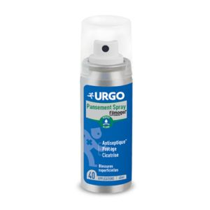 URGO Pansement Spray Filmogel 40ml Dès 3 Ans - Blessures Superficielles, Antiseptique