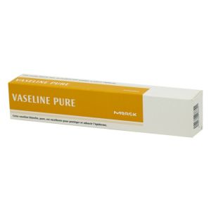 Vaseline blanche pure Merck - Tube de 50 ml
