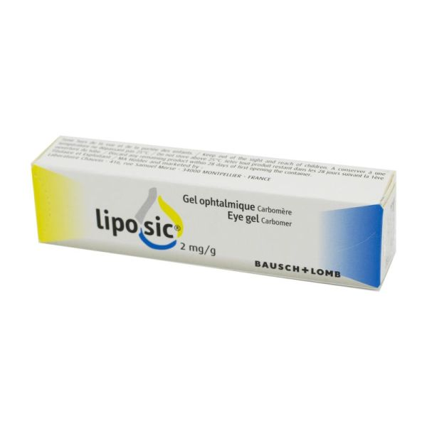 Liposic, gel ophtalmique - Tube 10 g