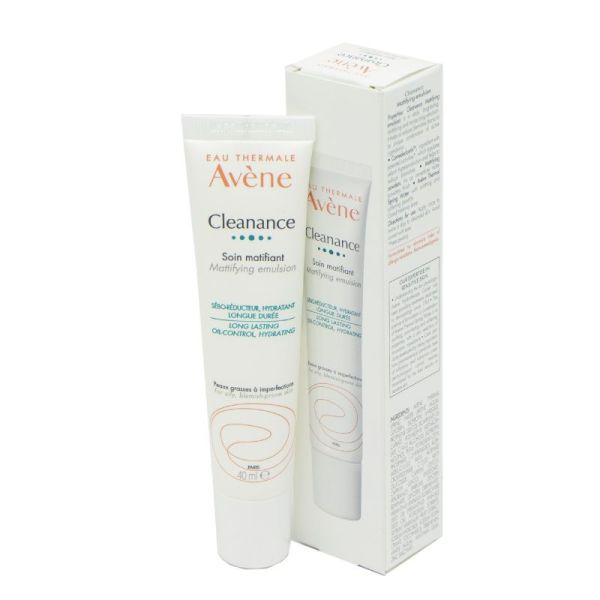 AVENE CLEANANCE Soin matifiant 40ml - Peaux Grasses et Brillantes à Imperfections