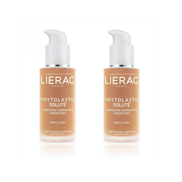 LIERAC PHYTOLASTIL Soluté Duo Correction des Vergetures 2x 75ml